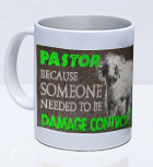 The BIG FIVE Mug - Pastor