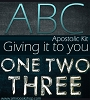 ABC Apostolic Kit - Giving it to you 123 (MP3 Downloads)