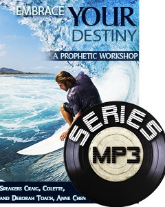 Embrace Your Prophetic Destiny (MP3 Downloads)