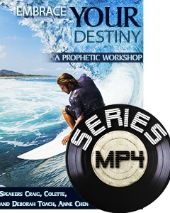 Embrace Your Prophetic Destiny (MP4 Downloads)